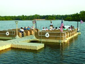 Floating Dock for Church Service