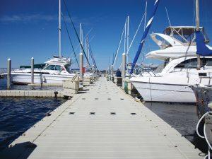 Floating Walkway Dock to Boats