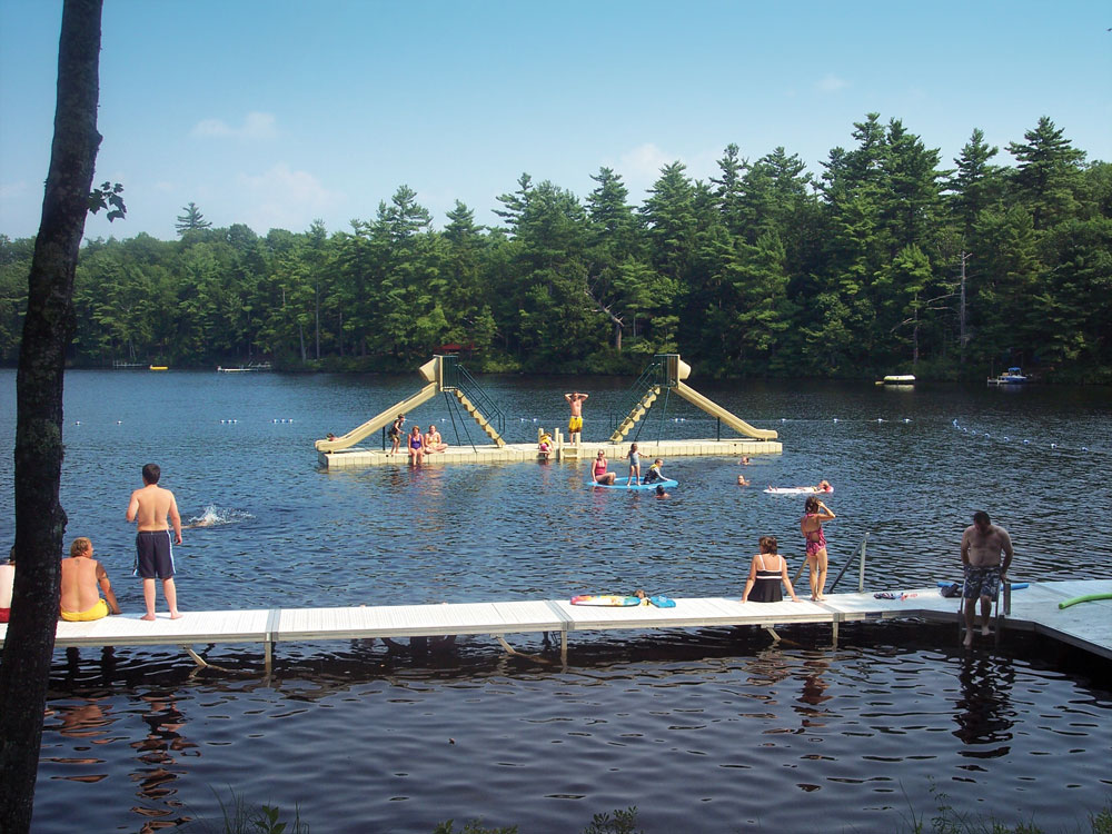 Docks for Camps | Dock Systems for Camps - EZ Dock