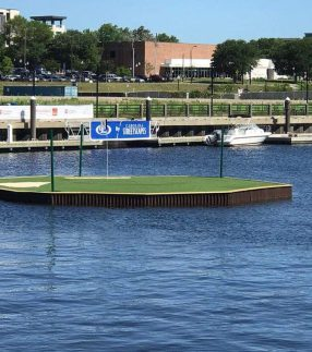 Floating Green Dock