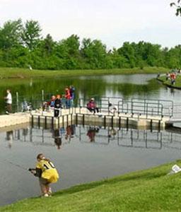 EZ Dock at Campground