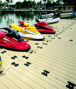 EZ Dock for Jetskis and Wave Runners