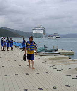 EZ Dock Hotel Docks