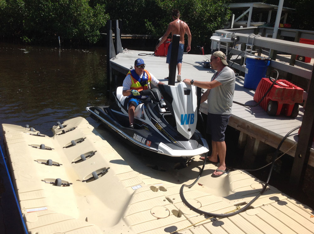 Jet Ski / Waverunner Docks and Lifts | EZ Dock