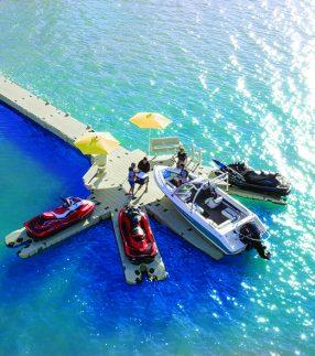 Boating Dock in Ocean