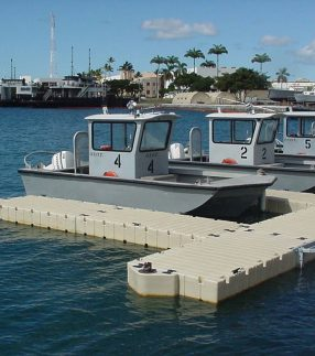 Government Boating Dock in Hawaii