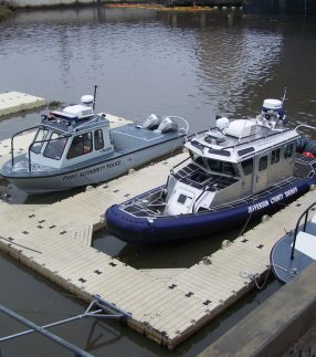EZ Dock for Government Boats
