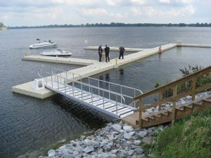 Law Enforcement Boating Dock
