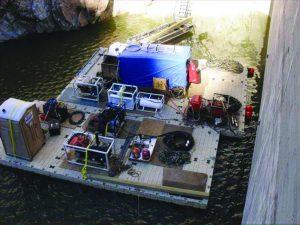 Floating Work Platforms