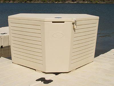 EZ Dock Corner Storage Box