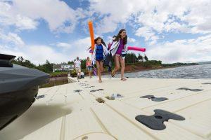 EZ Dock at Vacation