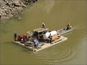 Equipment and Material Barges