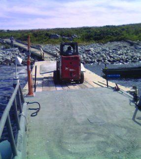 EZ Dock Floating Work Platfoms