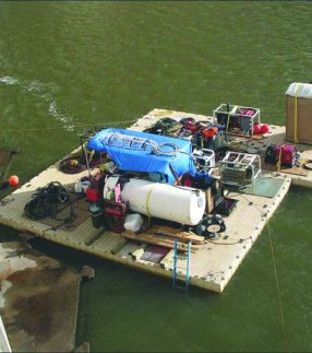 EZ Dock Equipment and Materials Barges
