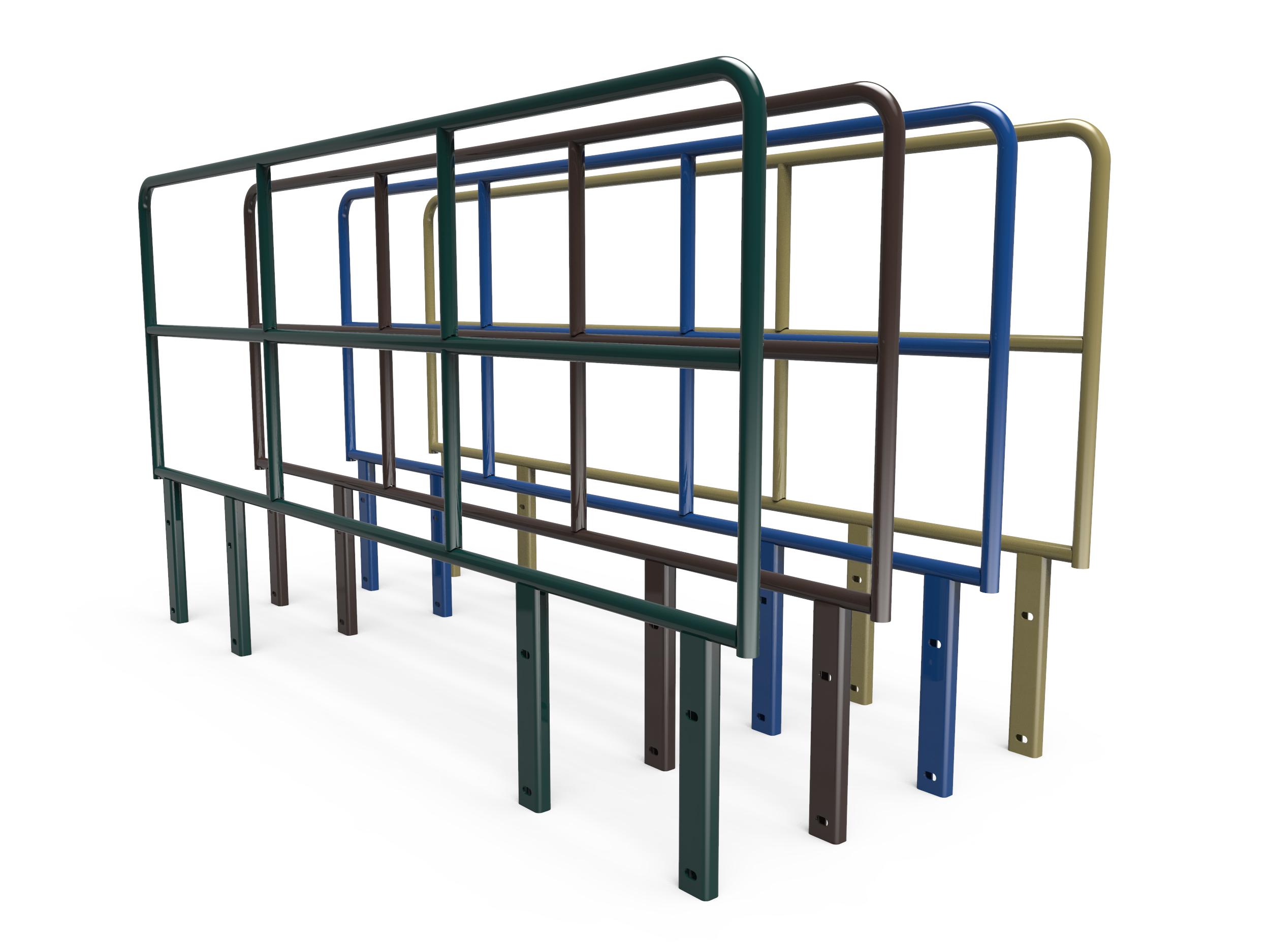 barrier free guard railing style 910 120 ez dock. Black Bedroom Furniture Sets. Home Design Ideas