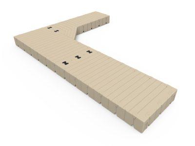 EZ Dock L-Shape Dock Configuration