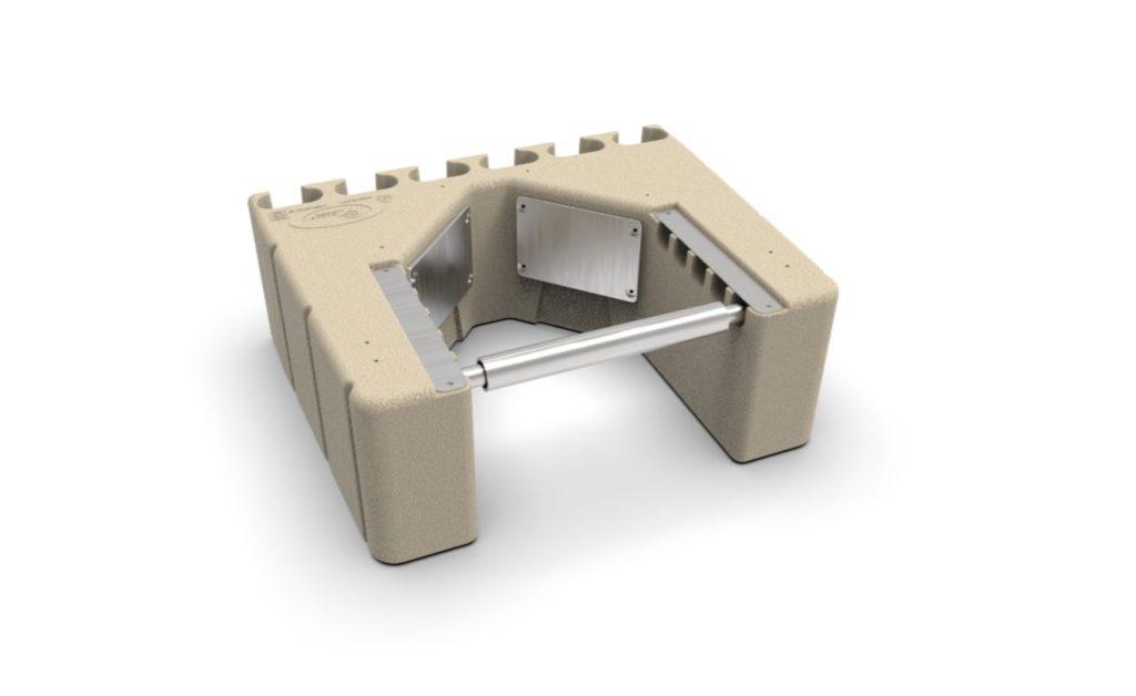 EZ Dock Adjustable Piling Bracket