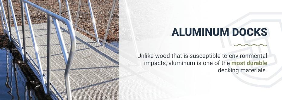 Using Aluminum Docks