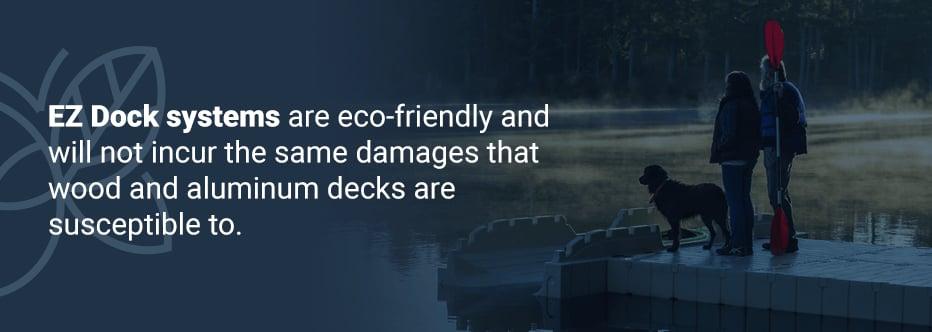 Pros of EZ Dock