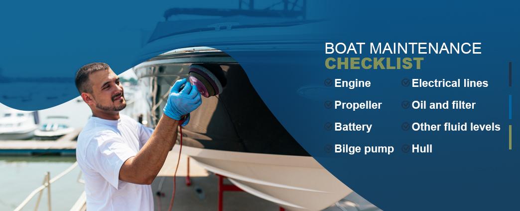 boat maintenance checklist