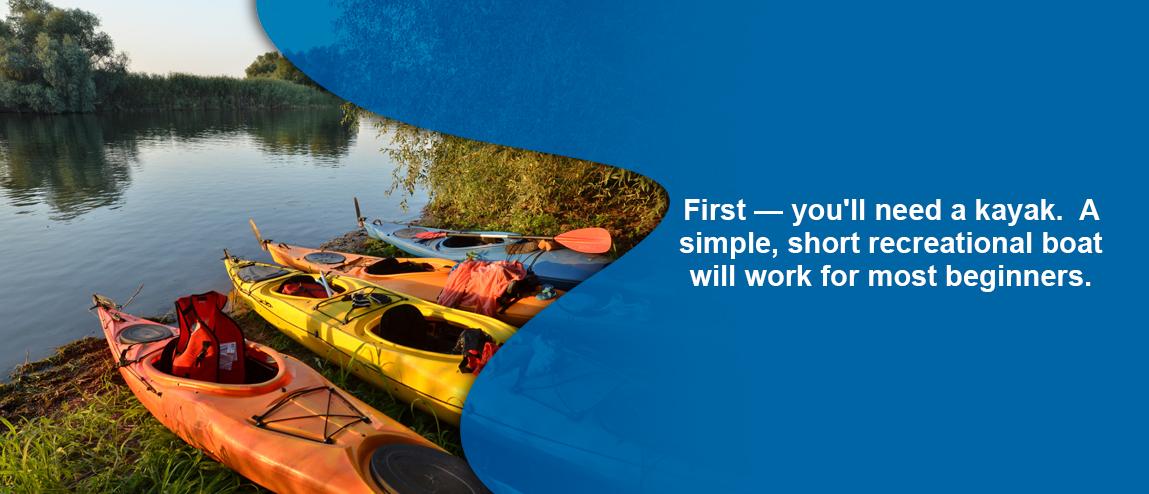 kayak for kayaking trip