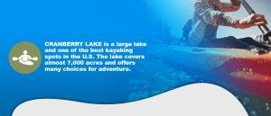 Cranberry Lake for Kayaking
