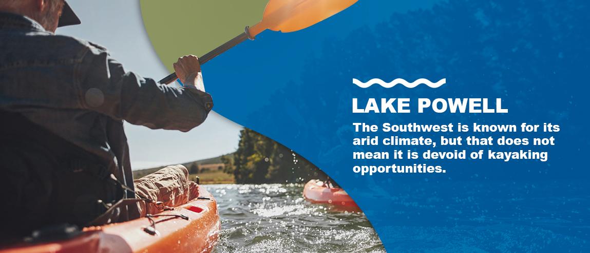 Lake Powell for Kayaking