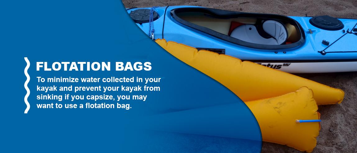 flotation bag for kayaking