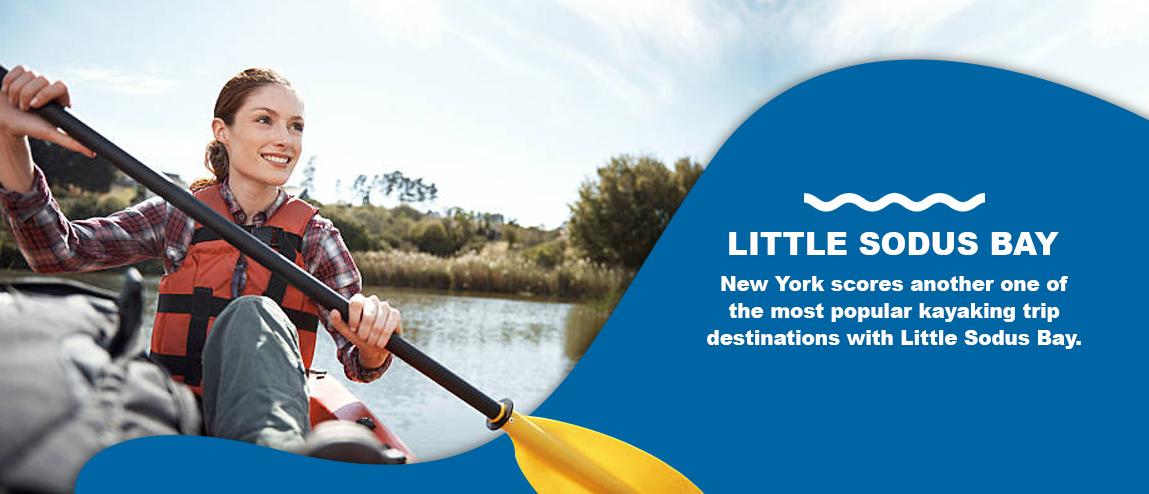 Kayaking Little Sodus Bay