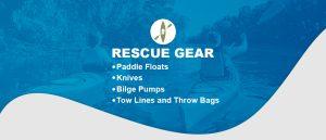 rescue gear to bring kayakaing