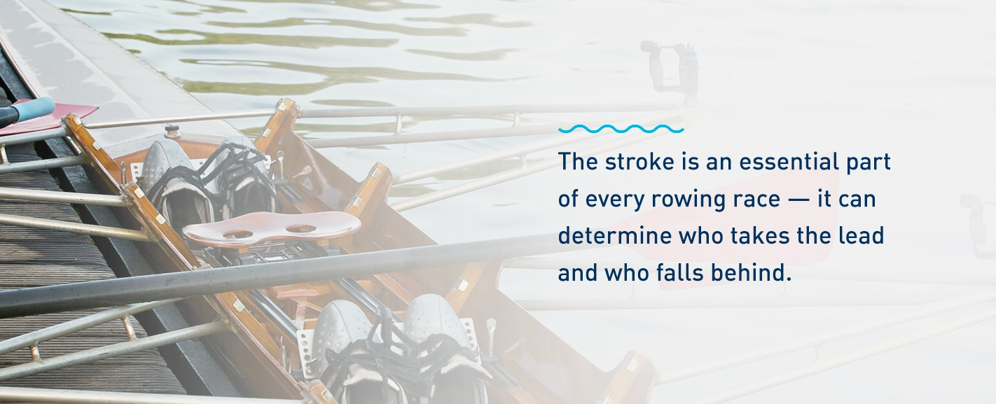 Importance of rowing strokes