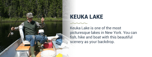 Kayaking in Keuka Lake