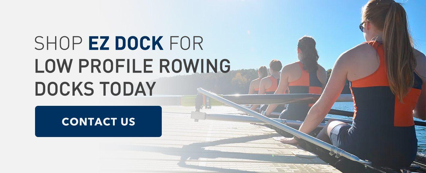 Shop EZ Dock for rowing docks