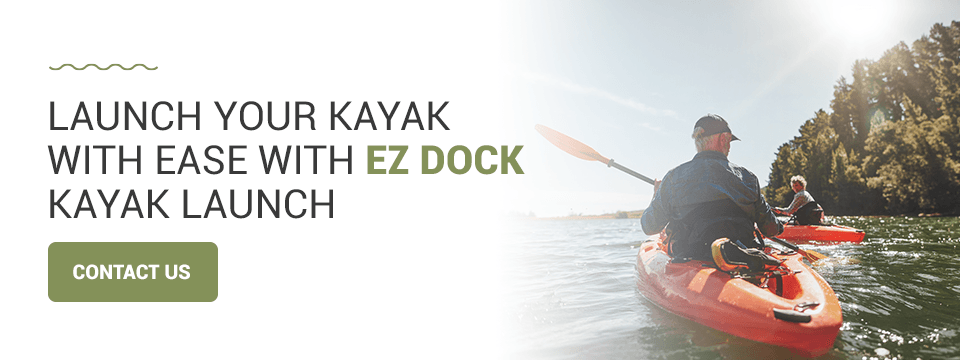 Launch your kayak with EZ Dock kayak launch