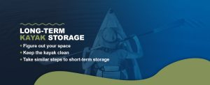 Long term kayak storage