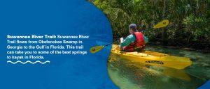 Suwanee river kayaking trail