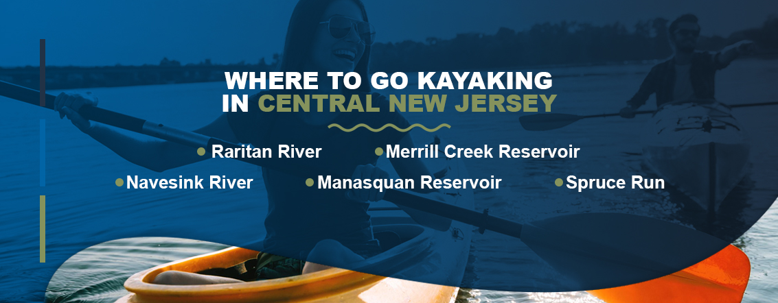 Where to Go Kayaking in Central New Jersey