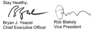 EZ Dock CEO and VP Signatures