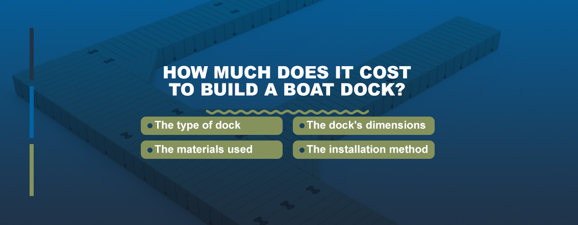 How much does it cost to build a boat dock?