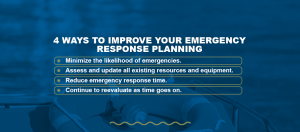 4 Ways To Improve Your Emergency Response Planning