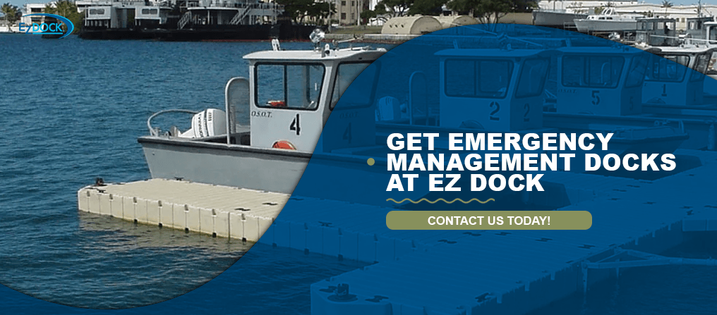 Get Emergency Management Docks at EZ Dock