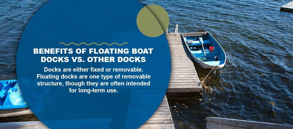 Benefits of Floating Boat Docks vs. Other Docks