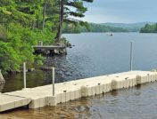 Docks for fluctuating water