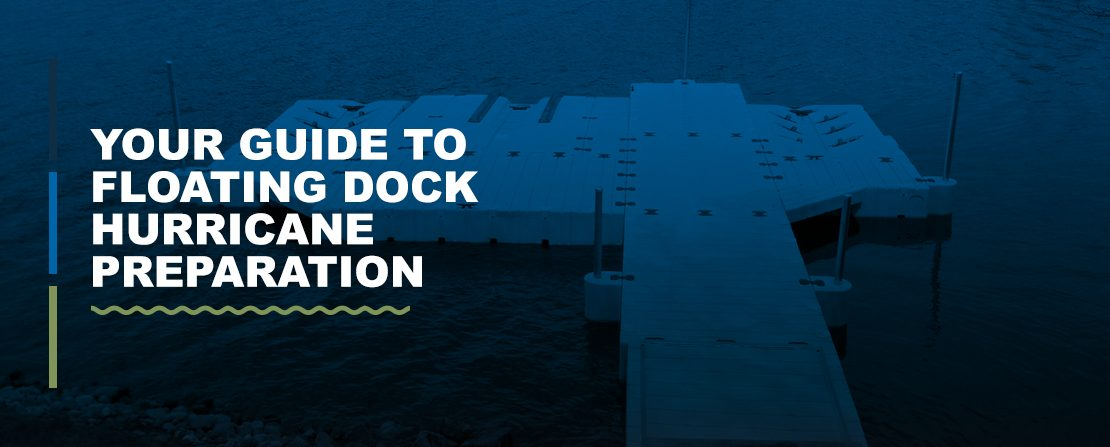 Guide to floating dock hurricane preparation