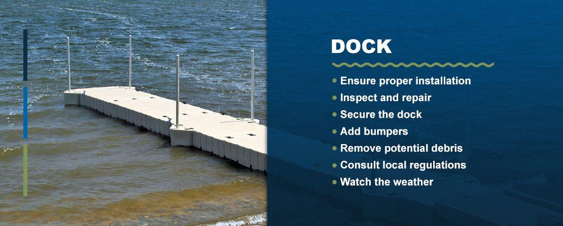 Hurricane docks