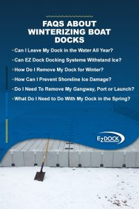 FAQs about winterizing floating docks