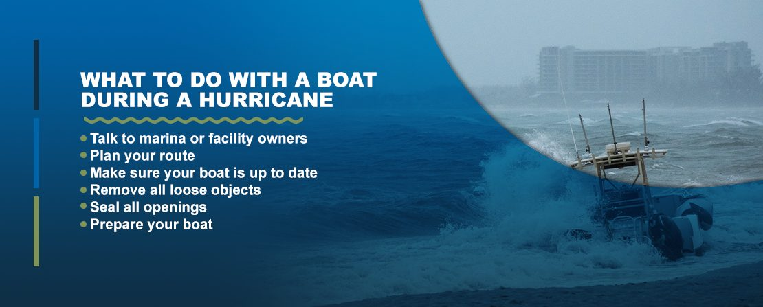 What to do with a boat during a hurricane