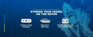 Storing your boat on the water