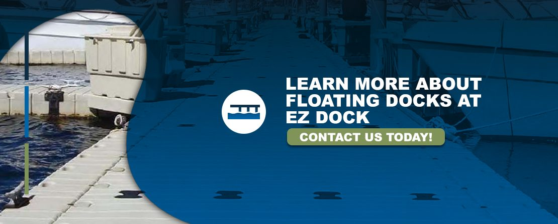 Learn more about floating docks at EZ Dock