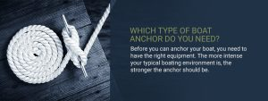 Which type of boat anchor do you need?